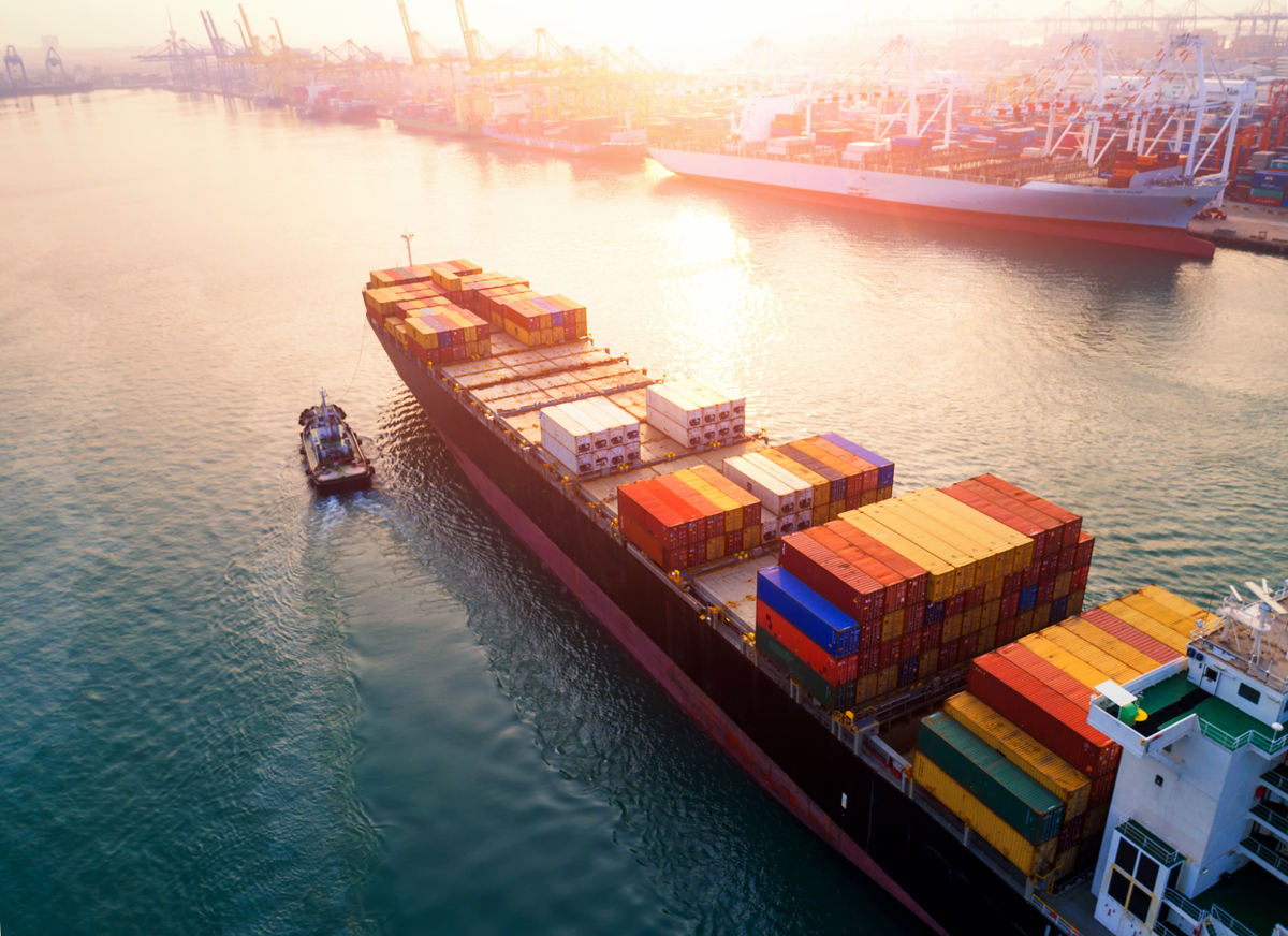 Export all over the globe in a shipping container