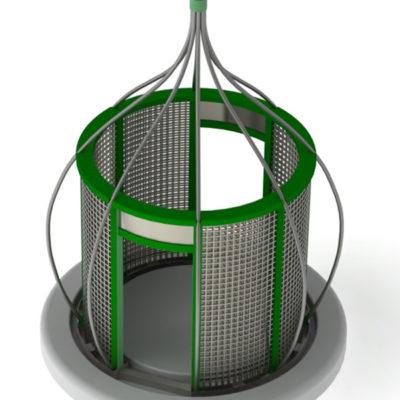 Green 3D CAD model