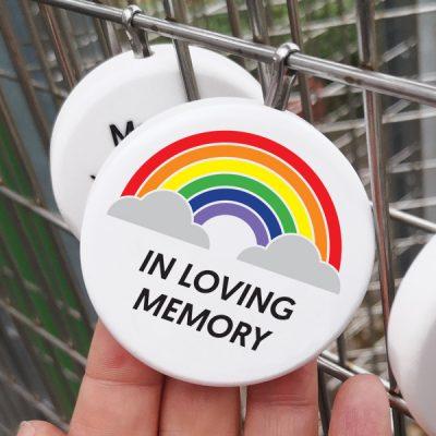 rainbow leaves - remember